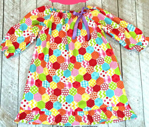 Toddler Flannel DIY Nightgown