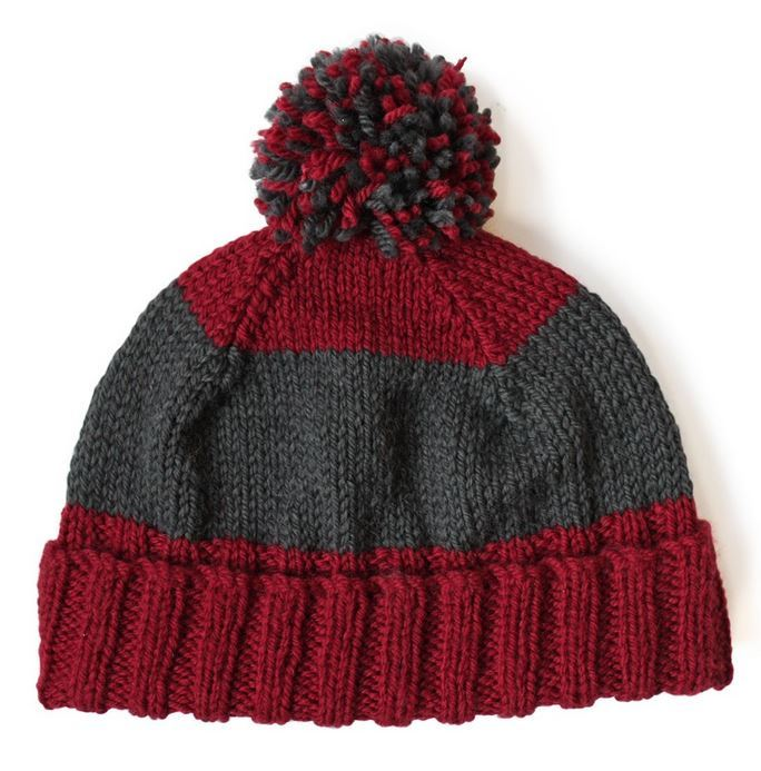 Dad's Knit Hat Pattern | AllFreeKnitting.com