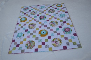 Bonnie Rose Irish Chain Quilt