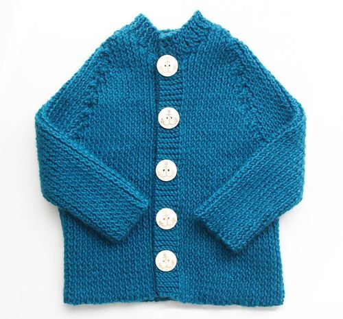 Little Sailor Baby Sweater
