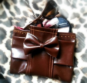 Leather Bow Free Purse Patterns