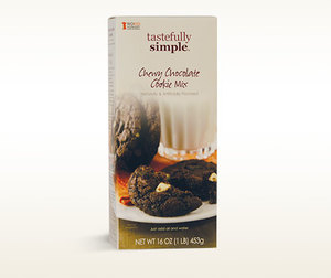 Tastefully Simple Chewy Chocolate Cookie Mix