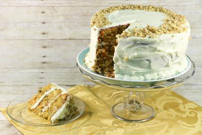 Grandma's Triple Layer Carrot Cake