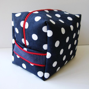 Boxy Travel Toiletry Bag