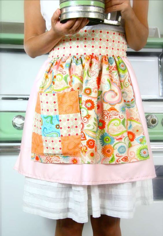Retro Apron Allfreesewing Com