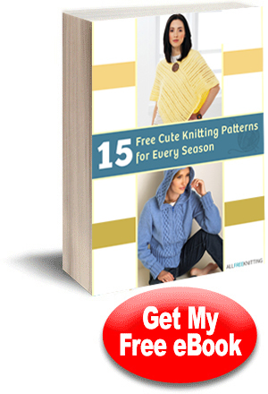 15 Free Cute Knitting Patterns for Every Season eBook
