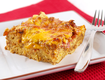 Bacon and Eggs Breakfast Casserole