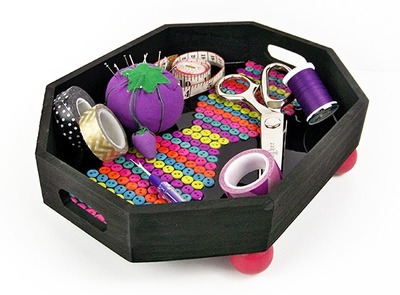 Bright and Bold DIY Organizing Tray