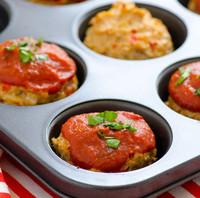 Shareable Turkey Meatloaf Muffins