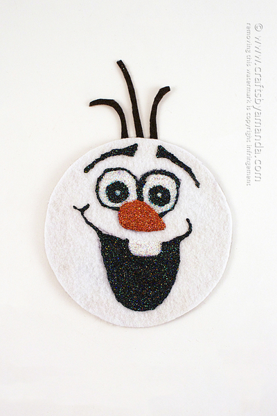 Recycled Olaf Craft