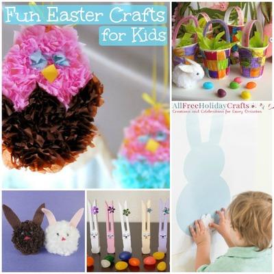 36 Fun Easter Crafts for Kids | AllFreeHolidayCrafts.com