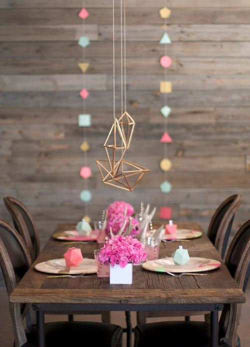 Colorful Geometric Party
