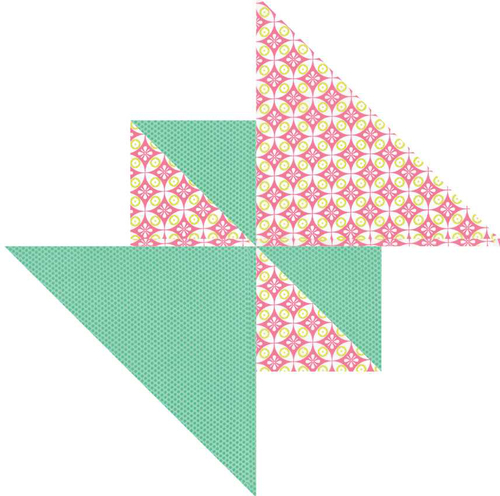 Picket Fence Quilt Block Pattern