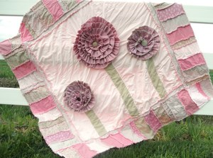 Blooming Rag Quilt Pattern