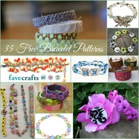 38 Free Beaded Bracelet Patterns