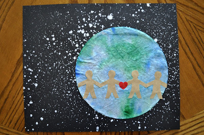 Coffee Filter Earth Day Craft