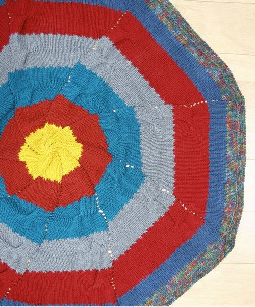 Radiance Knit Throw