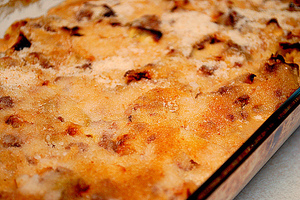 Old Country German Cabbage Casserole with Ground Beef