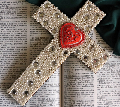 Stunning Beaded Easter Cross