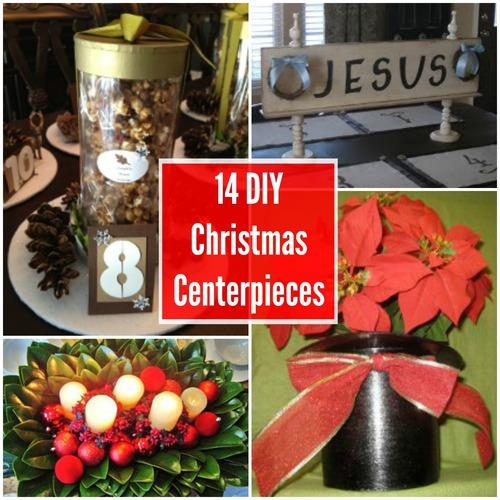 14 DIY Christmas Centerpieces | AllFreeChristmasCrafts.com
