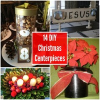 14 DIY Christmas Centerpieces