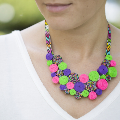 Duck Tape DIY Necklace