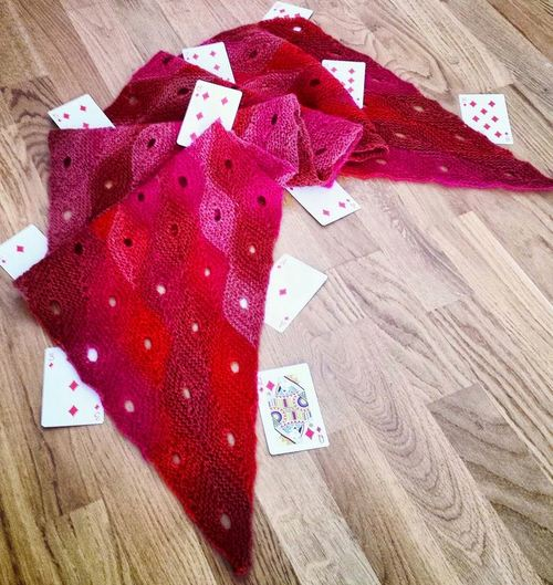 Queen of Diamonds Scarf