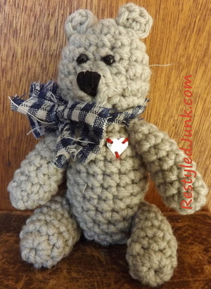 Mini Teddy Bear Crochet Pattern