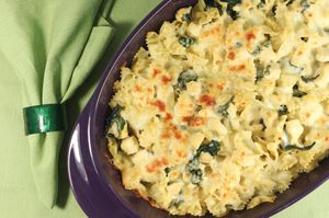 The Best Baked Spinach and Pasta