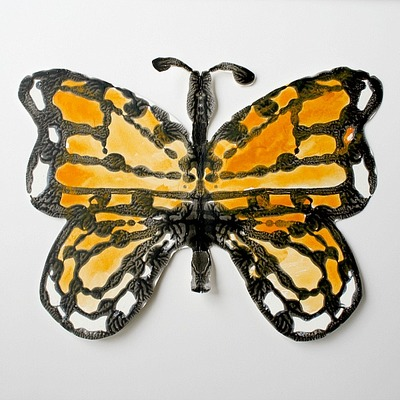 Monarch Butterfly Symmetry Art
