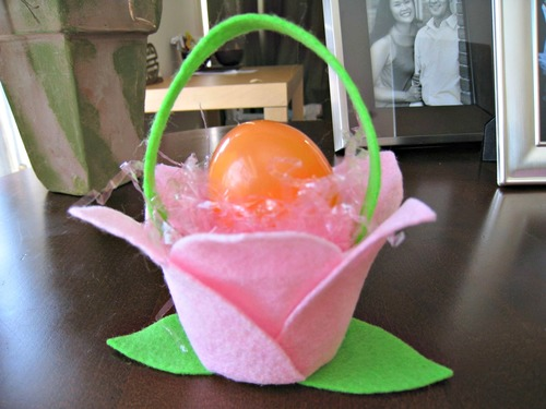 Favorite Felt Easter Baskets