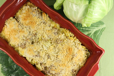 Ground Turkey Cabbage Casserole