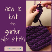 How To Knit: Garter Slip Stitch Video Tutorial