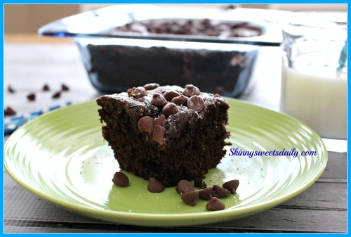 Triple Chocolate Pudding Dump Cake