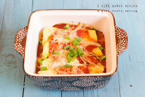 Gluten-Free Chicken Enchiladas