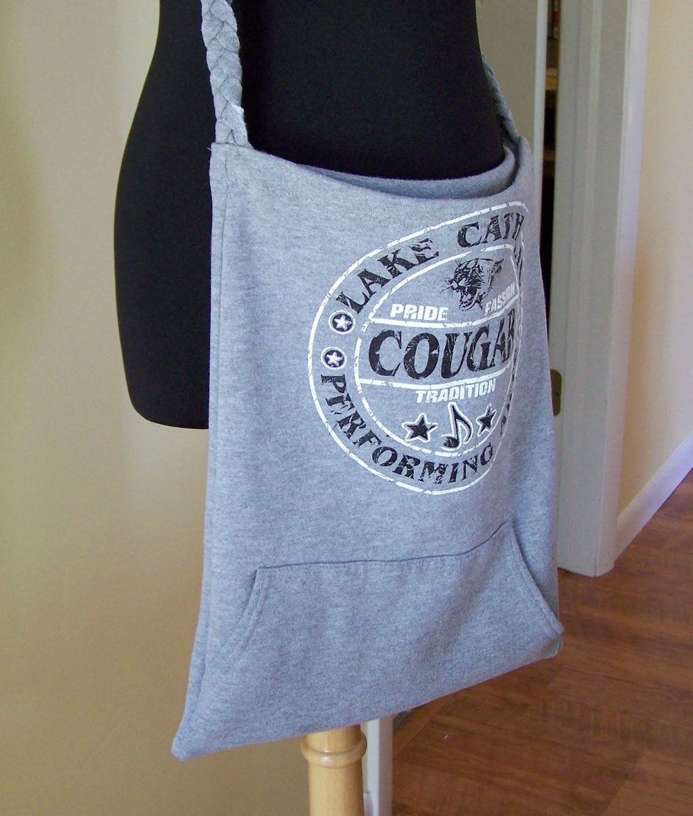 Sweatshirt Tote Tutorial Allfreesewing Com