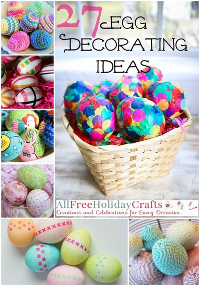 27 Egg Decorating Ideas For A Hoppy Easter Allfreeholidaycrafts Com