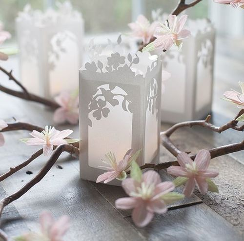 Blossoming Spring Paper Lanterns