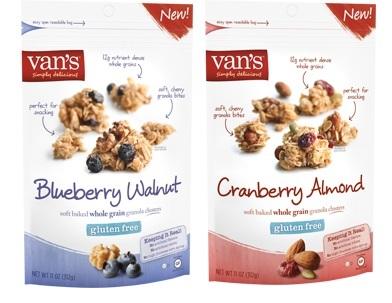 Van's Gluten-Free Granola Clusters