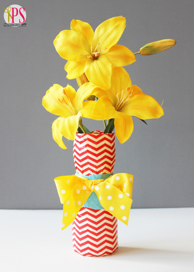 Duct Tape DIY Vase