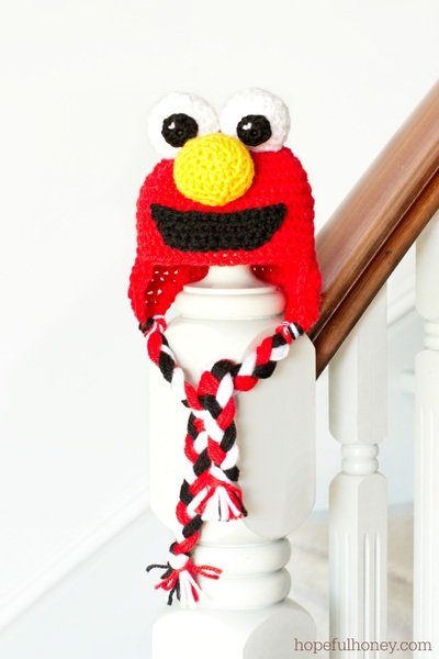 Elmo Baby Hat Crochet Pattern