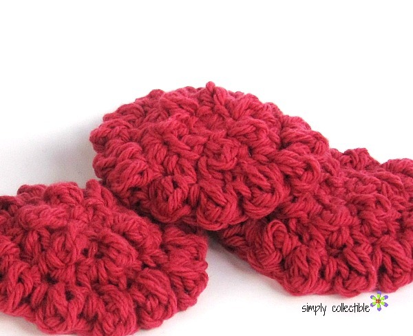 Round Spa Scrubby Easy Crochet Pattern FaveCrafts.com