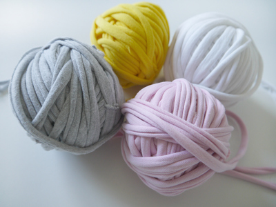 Super Easy T Shirt Yarn Project