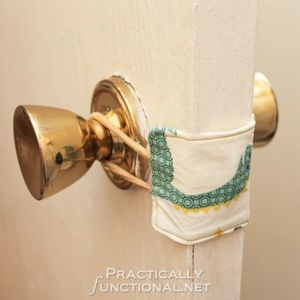 Sweet Dreams DIY Nursery Door Latch Cover