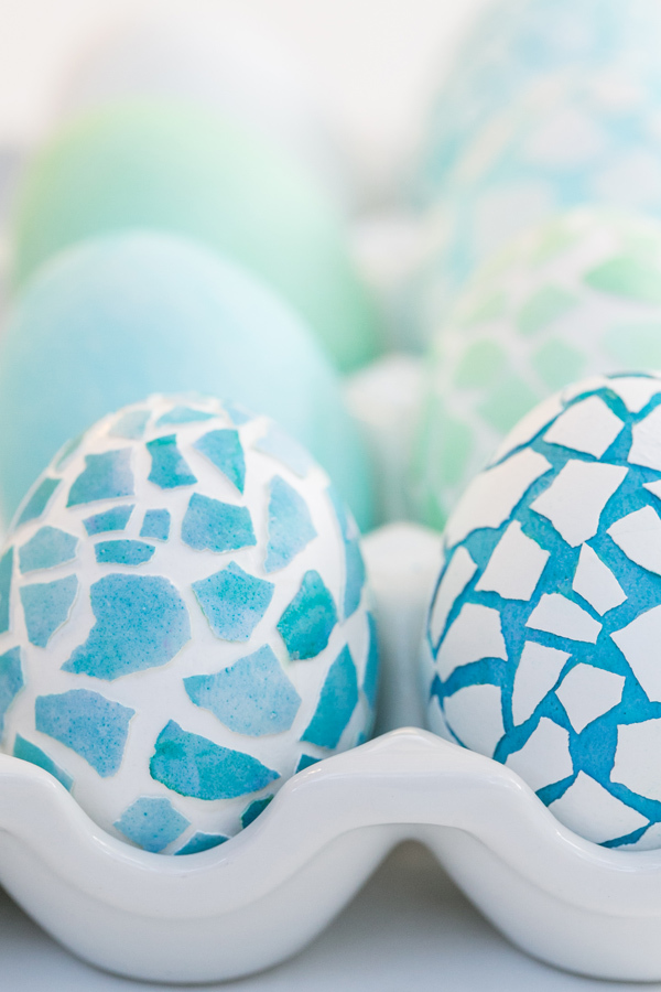 How to Make Mosaic Easter Eggs