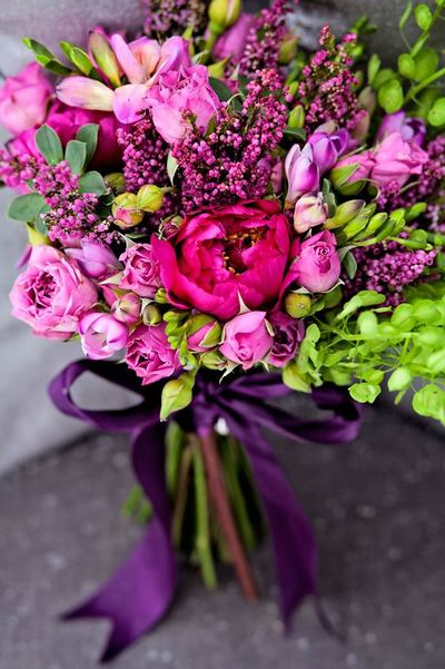 Unbelievably Beautiful Magenta Bouquet