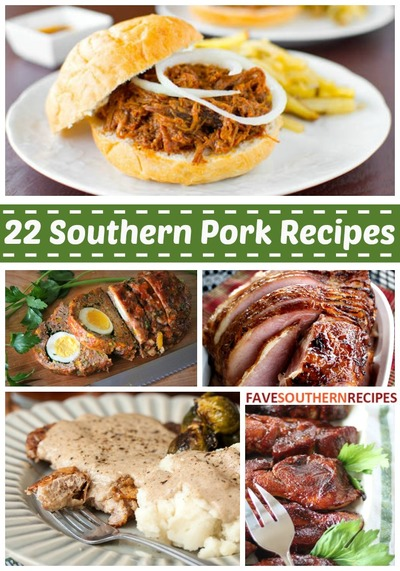 Easy Southern Recipes: Southern Cooking Recipes for Pork
