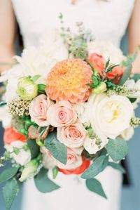 Perfect Spring Wedding Bouquet