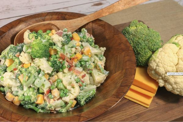 Grandma's Favorite Broccoli Salad