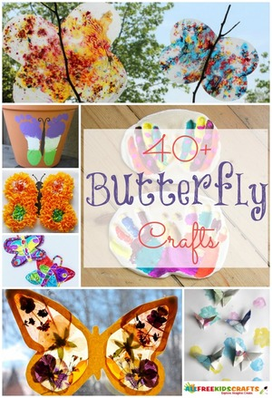 40 Butterlies for Kids to Make